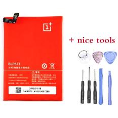 Oneplus One Baterai High Capacity Li Ion 3100Mah With Opening Tools Blp571 Original
