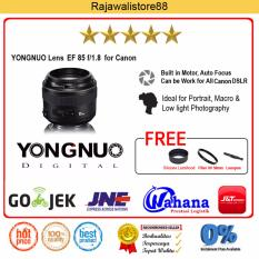 Yongnuo Lens YN 85mm f/1.8 Lens For Canon EF Free Aksessories