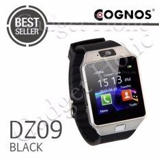Onix Cognos ZGPAX Smartwatch U9 DZ09 TERMASUK BOX - Hitam - Strap Karet