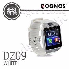 Onix Cognos ZGPAX Smartwatch U9 DZ09 TERMASUK BOX - Putih - Strap Karet