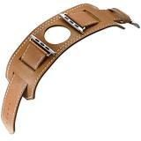 Review Toko Onix Smartwatch Cuff For Apple Watch 42 Mm Hermes Cokelat