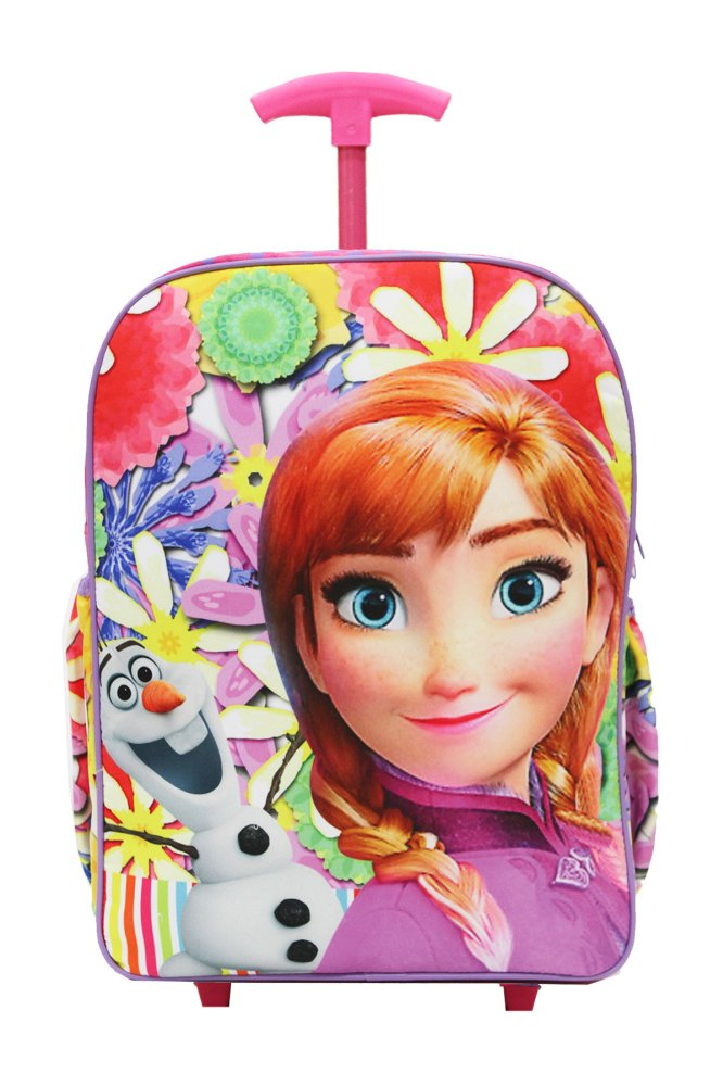 Harga Onlan Disney Frozen New Arrival Tas Trolley Sd Bahan Canvass Halus Pink Satu Set