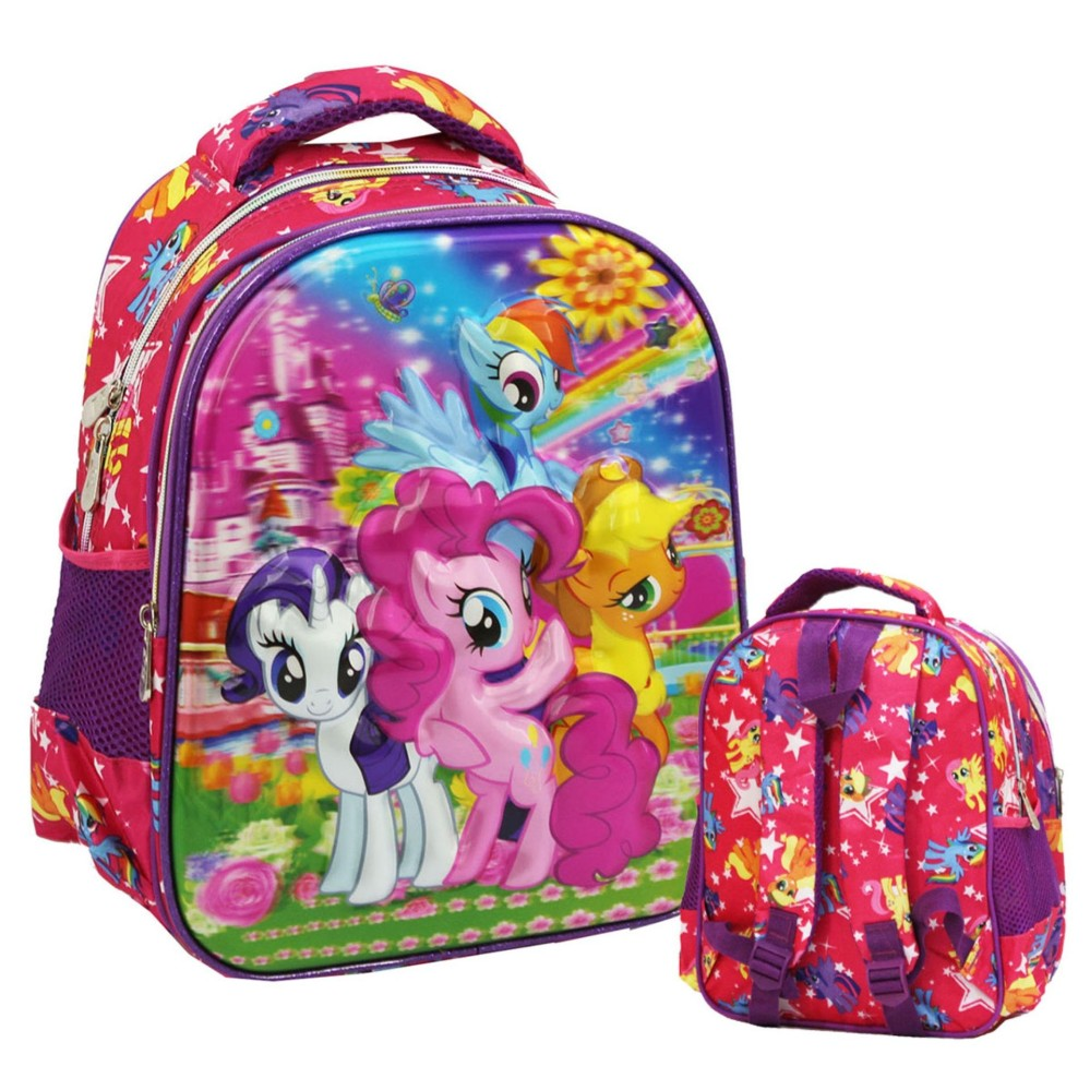 Jual Onlan My Little Pony Flower 5D Timbul Hologram Tas Ransel Tk Import Pink Onlan Ori