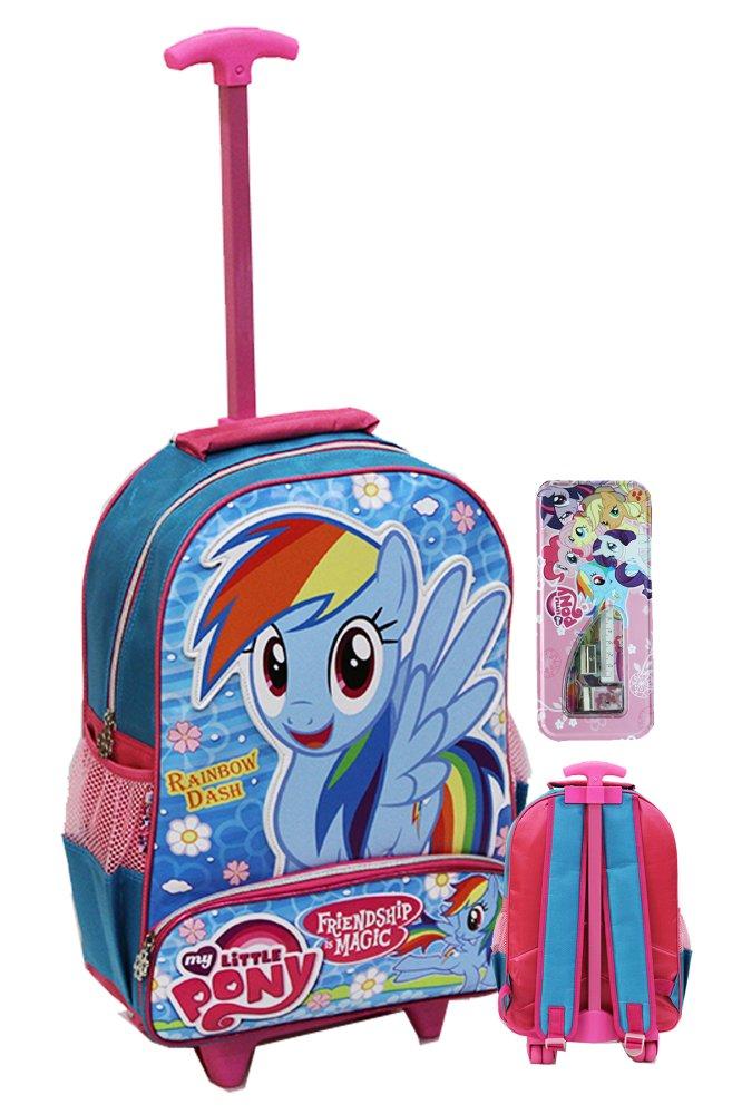Harga Onlan My Little Pony Raibow Dash Trolley Anak Sekolah Sd Ukuran Besar Soft Timbul New Model Dan Kotal Pensil Set Alat Tulis Blue Onlan Original