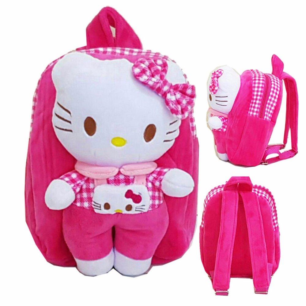 Beli Onlan Tas Ransel Anak Boneka Lucu Bahan Halus Lembut Pink Onlan Dengan Harga Terjangkau