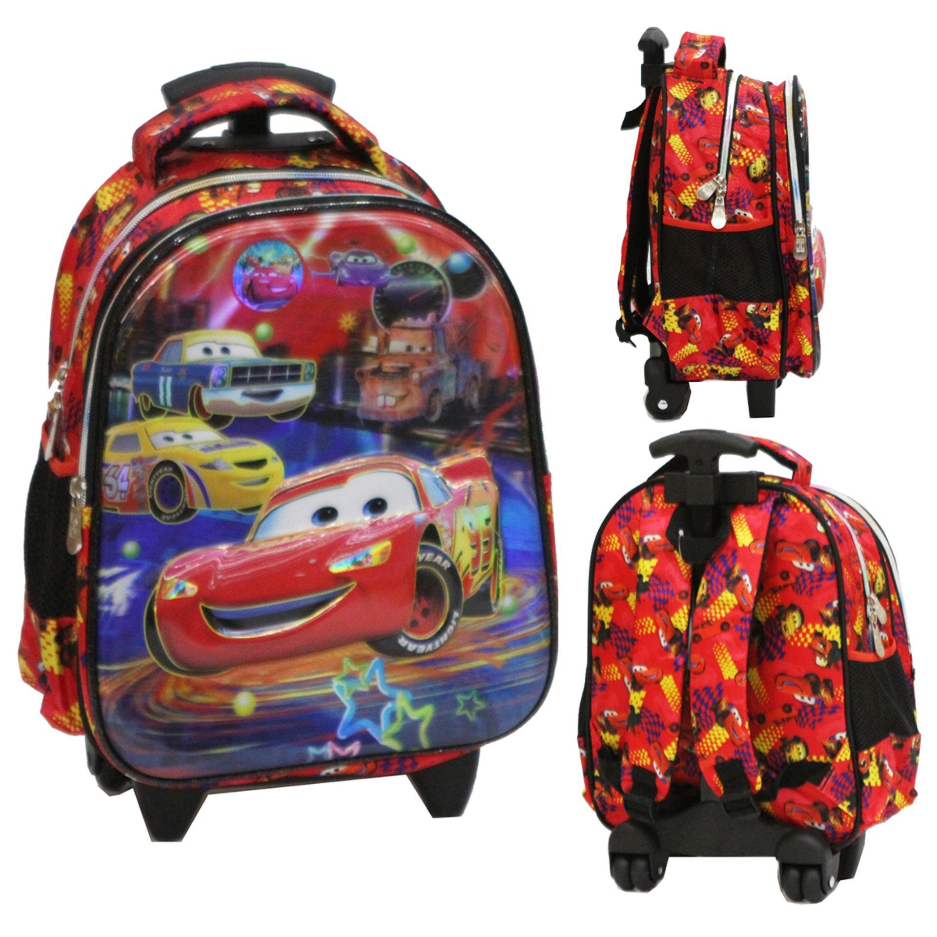 Diskon Onlan Tas Trolley Anak Sekolah Tk Pg Import Karakter Anak Laki Laki Akhir Tahun