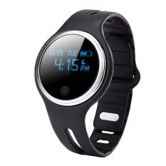 Beli Ooplm E07 Bluetooth 4 Gelang Tidur Kebugaran Aktivitas Tracker Call Pengingat Smart Band Hitam Online Terpercaya