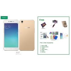 Beli Oppo A37 2 16Gb Free 6 Item Accessories Nyicil