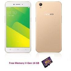 OPPO A37 (Gold) 16 GB - RAM 2GB + (free 16 GB Memory)