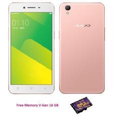 OPPO A37 Neo 9 - 16 GB - Rose Gold + Free Memory V-Gen 16 GB