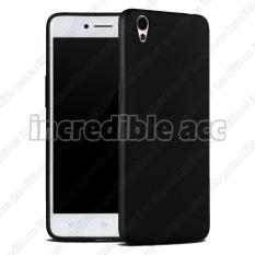 Oppo A37 / Oppo Neo 9 Baby Skin Soft Anti Fingerprint Babby Skin Softase Silicon Slim Matte Ultra Slim - Black