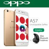 Spesifikasi Oppo A57 Ram 3Gb Rom 32Gb Fingerprint 4G White Gold Beserta Harganya