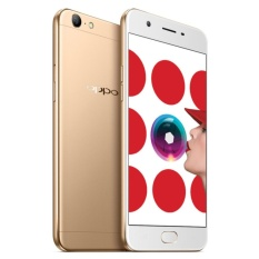 Oppo A57 Ram 3GB Room 32GB Gold Garansi Resmi - Free Softcase - Tempered Glass