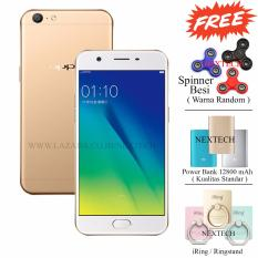 Oppo A57 - Unstoppable Selfie - Ram 3GB - Rom 32GB - Crown Gold