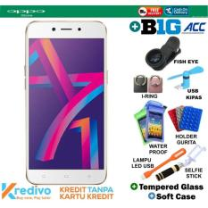 Oppo A71 2018 2/16 - Gold Plus BIG ACCECORIES Cash & Kredit