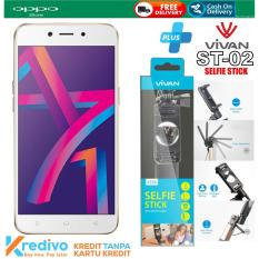 OPPO A71 2/16 Plus Selfie Stick Vivan ST02 Original Cash & Kredit Tanpa Kartu Kredit