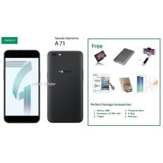 OPPO A71 [2/16GB] + Free 6 Item Accessories