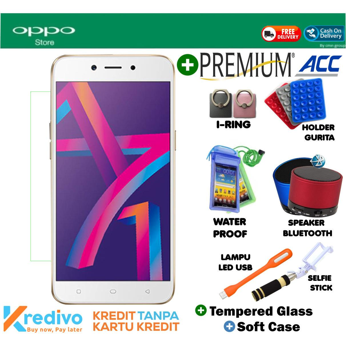 OPPO A71 3GB/32GB PLus Premuim Accecories Menarik Original