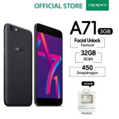 Oppo A71 3GB/32GB Black - Speedy Operation (Garansi Resmi Oppo Indonesia, Cicilan Tanpa Kartu Kredit, Gratis Ongkir)