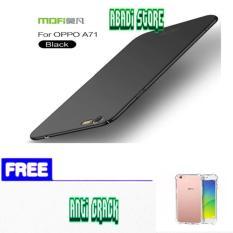 OPPO A71 Baby Skin Ultra Thin Slim Matte Hard Case+free-anti crack -