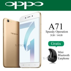Oppo A71 (2018) Snapdragon - Ram 2GB - Rom 16GB - 4G - White Gold