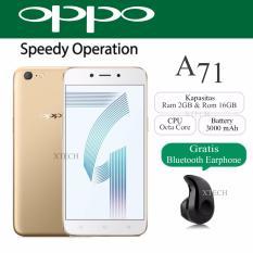Oppo A71 (2018) Snapdragon - Ram 2GB - Rom 16GB - Layar 5.2 inch - White Gold