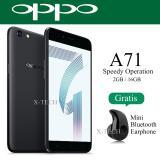 Toko Oppo A71 Snapdragon 450 Ram 2Gb Rom 16Gb Matte Black Lengkap Di Dki Jakarta