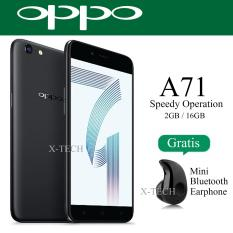 Beli Oppo A71 Snapdragon 450 Ram 2Gb Rom 16Gb Matte Black Oppo Asli