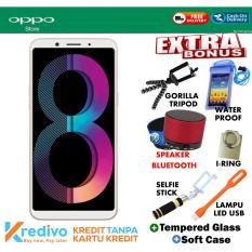 Oppo A83 3/32 GB - Gold Free Ekstra Bonus Cash Dan Kredit Tanpa Kartu Kredit
