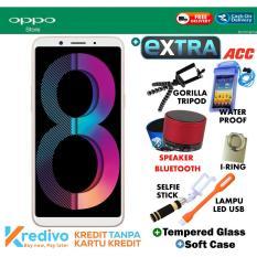 Oppo A83 3/32 GB - Gold Garansi Resmi Plus Extra Accecosries Menarik
