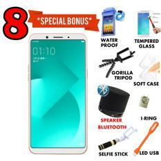 Oppo A83 3/32 GB - Gold Garansi Resmi Free 8 Bonus Item Menarik Cash Dan Kredit