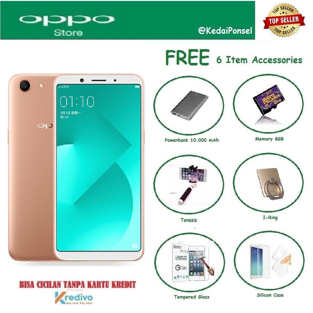 Silicon Case OPPO A83 3 32GB Free 6 Item Accessories