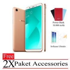 Oppo A83 Garansi Resmi Ram 3GB/32GB (Free 2X Paket Accessories) Gold Smartphone