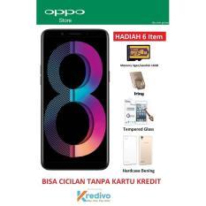 Oppo A83 Ram 3/32GB - Bisa Cicilan Tanpa Kartu Kredit + Free 4 ACC