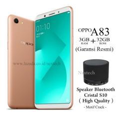 Oppo A83 - Ram 3GB - Rom 32GB - 4G/LTE - Garansi Resmi Oppo