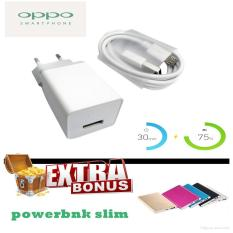 Jual Oppo Ak903 Fast Charging 2A Free Powerbank Slim Oppo Branded