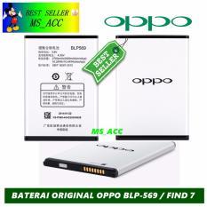 Oppo Baterai / Battery Find 7 BLP569 Original - Kapasitas 2700mAh
