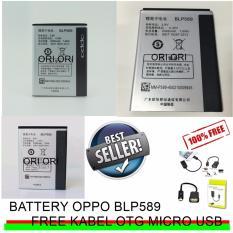Oppo Baterai / Battery Mirror 3 / BLP589 + Gratis Kabel OTG Micro USB