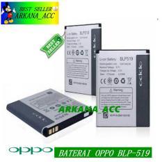 Oppo Battery BLP519 Original Baterai For Oppo U701 - R817 - R813 - R8113 - Piano Kapasitas 2000mAh