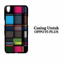OPPO F1 PLUS Casing iPhone Squares Hardcase Custom Case Cover