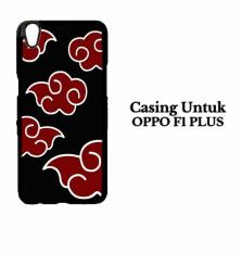 OPPO F1 PLUS Casing Naruto Akatsuki Cloud Emblem Hardcase Custom Case Cover