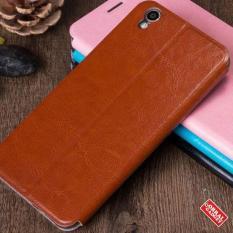 Oppo F1 Plus R9 Mofi Soft Leather Flip Case Flipcase Cover Hitam