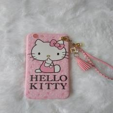 SOFTCASE OPPO F1S A59 MOTIF HELLO KITTY CATS PINK 3D TSUM