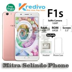 Harga Oppo F1S New Edition Rose Gold Ram 4Gb Rom 64Gb Satu Set