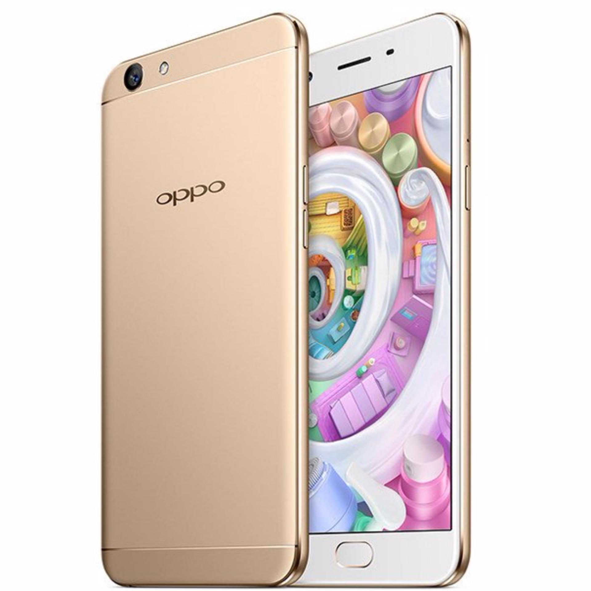 Oppo F1S Plus RAM 4GB - ROOM 64GB Gold