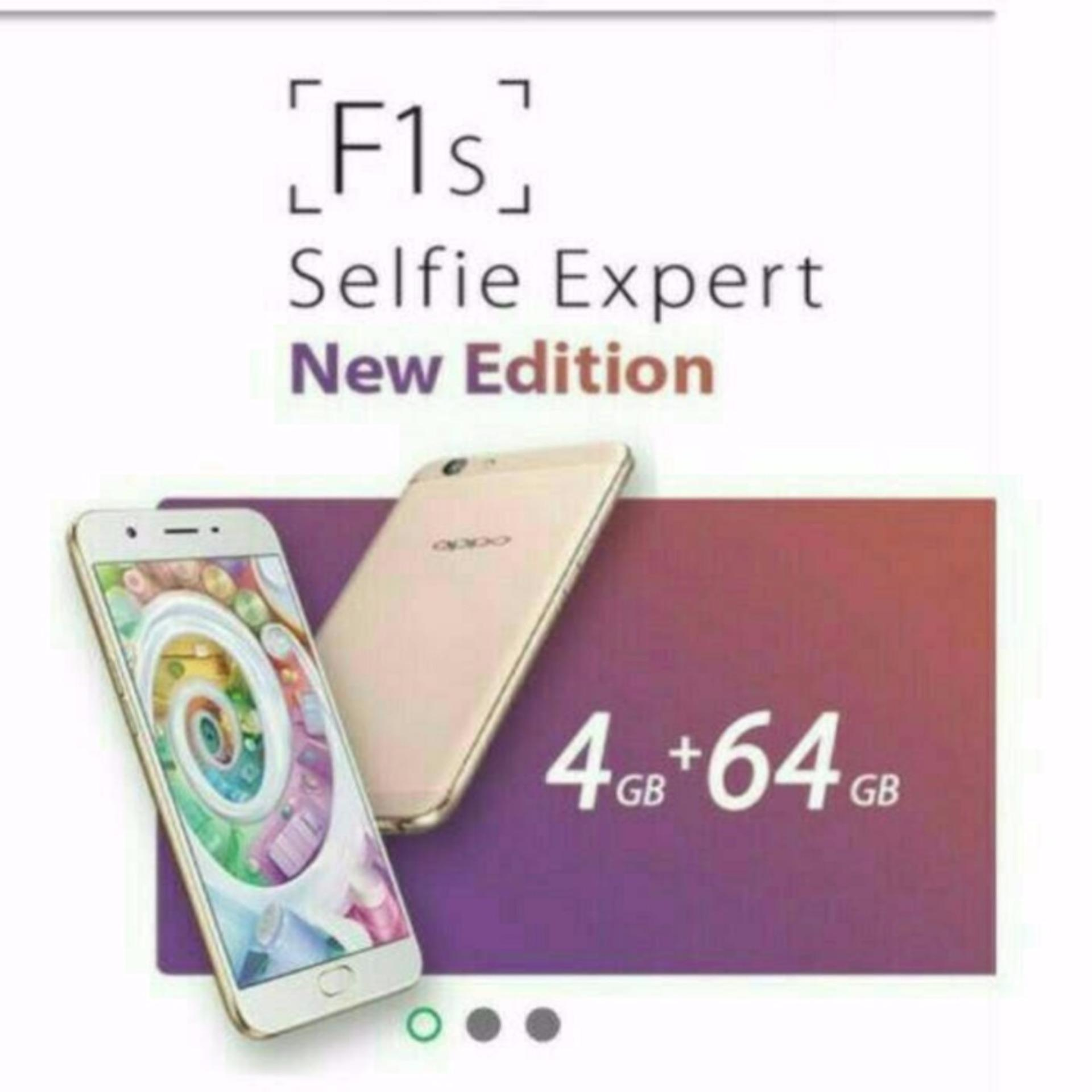 Jual Cepat Oppo F1S Plus Ram 4Gb Room 64Gb Gold Rose