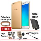 Toko Oppo F1S Selfie Expert 4G 32Gb Gold Free 5 Item Termurah Di Indonesia