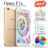 Jual Oppo F1S Selfie Expert New Edition Ram 4Gb 64Gb Fingerprint Jaringan 4G Gold Satu Set