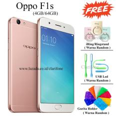 Oppo F1s Selfie Expert - New Edition - Ram 4GB - Rom 64GB - Rose Gold