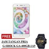 Review Toko Oppo F1S Selfie Expert Smartphone Gold 32 Gb Free Jam Tangan Pria